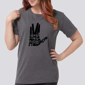 live long and prosper Womens Comfort Colors Shirt